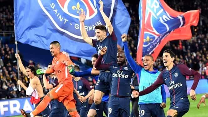 PSG – AS Monaco 3-1 VIDEO în Ligue 1. Parizienii au câștigat un nou titlu