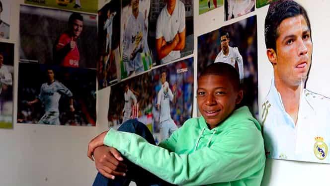 """Mbappe, dezvăluiri surprinzătoare! """"Ronaldo e idolul meu, dar el e cel mai bun"""""""