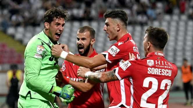 """Dinamo, 3-0 cu Hermannstadt! """"Câinii"""" au scăpat de ultimul loc. VIDEO"""