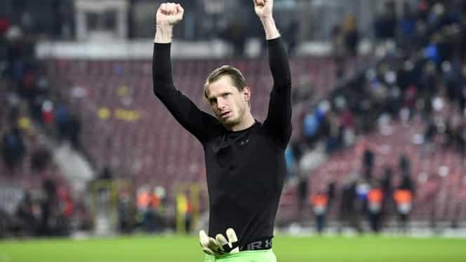 Lovitură pentru CFR Cluj în lupta pentru titlu. Giedrius Arlauskis nu va juca la Botoşani. Exclusiv