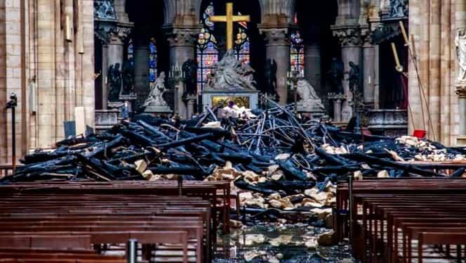 Ce s-a întâmplat cu donaţiile pentru Catedrala Notre-Dame. Câţi bani s-au strâns pentru reconstrucţie
