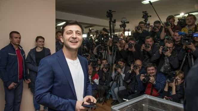Volodimir Zelenski a câştigat alegerile în Ucraina! Mesajul lui Florin Călinescu pentru noul preşedinte
