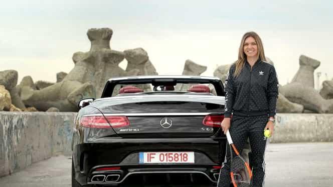 Simona Halep şi-a mai luat o maşină! Cum arată bolidul de 150.000 de euro pe care-l conduce românca! Foto