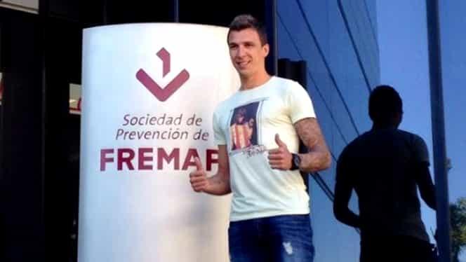 Mario Mandzukic a efectuat vizita medicală la Atletico Madrid!