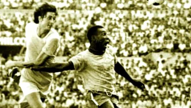"""50 de ani de la România – Brazilia, ultimul bal la """"Copa Mundial de Fútbol México 70"""". Contre verbale neortodoxe cu Pelé și cui i-a dat """"El Rey"""" tricoul. Video de colecție"""