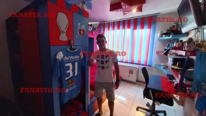 Coechipier cu idolii. Marius Ciobanu joacă în Liga 1 alături de fotbaliștii Stelei pentru care a plâns în copilărie. Exclusiv