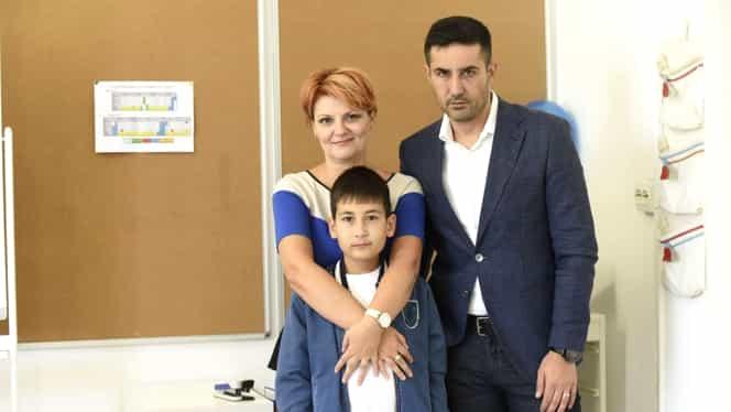 Emoții pentru Lia Olguța Vasilescu și Claudiu Manda! I-au dus pe cei doi copii la școală. Foto