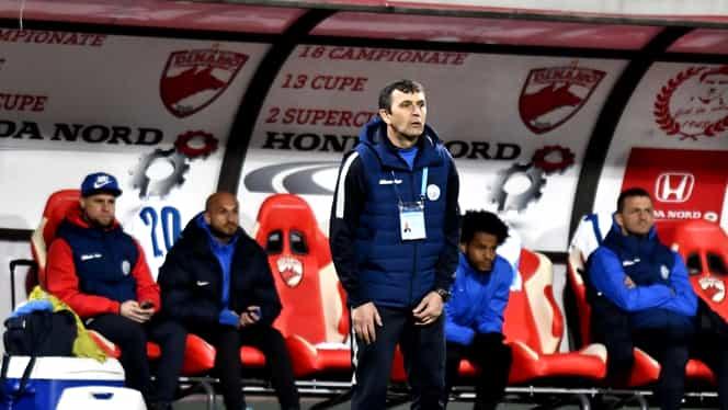 """Eugen Neagoe a avut liniște 30 de minute la Dinamo! Suporterii au scandat """"Demisia"""" în prima repriză cu Viitorul"""
