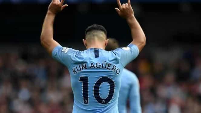 Sergio Aguero, cifre senzaţionale în tricoul lui Manchester City! Ce a reuşit argentinianul în meciul cu Southampton