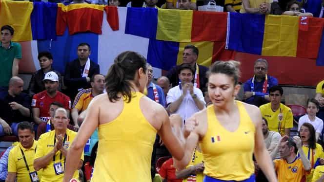 """Halep și Niculescu, cele mai tari lovituri din meciul de dublu! """"Vă vine să credeți că românca ocupă locul 417?"""""""