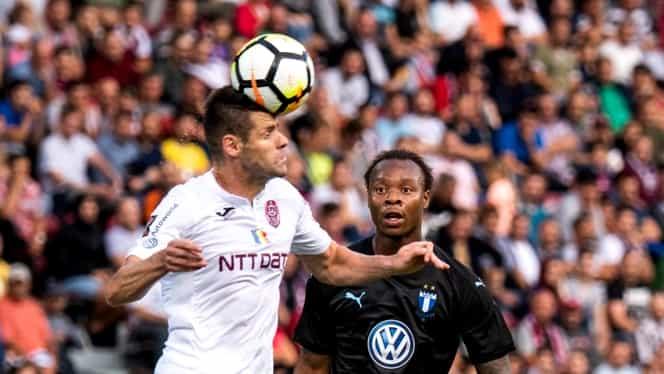 CFR Cluj-Malmo 0-1 în turul doi preliminar Champions League. Vezi rezumatul video!
