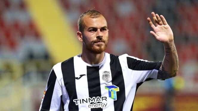 Denis Alibec, primul gol cu capul în Liga 1 chiar împotriva FCSB-ului! Andrei Vlad nu a avut nicio șansă. Video