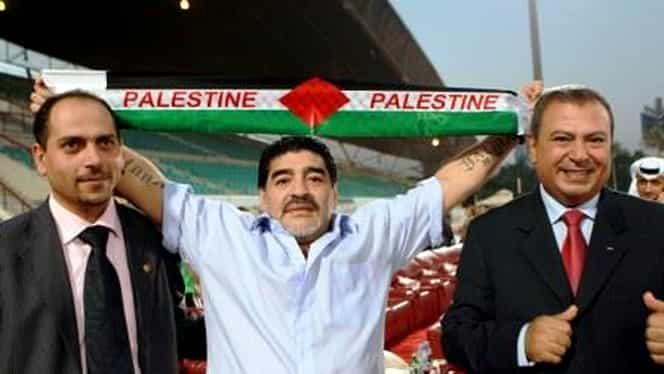 ULUITOR! Maradona poate prelua naţionala Palestinei!