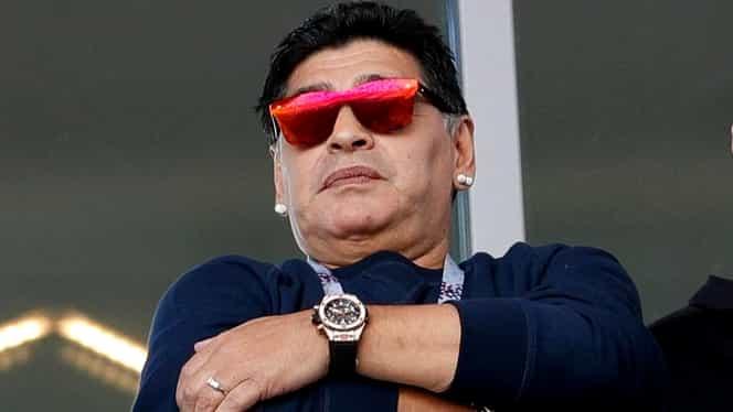 """Maradona s-a supărat pe jurnaliștii argentinieni! """"Îmi dau și viața pentru echipa națională"""""""