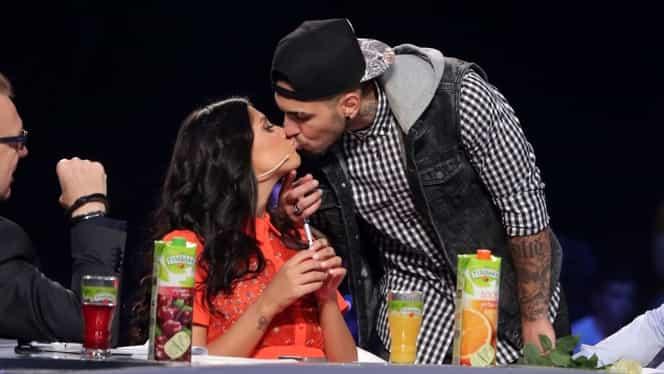 Antonia şi Alex Velea, sărut în pauza KIDSing!