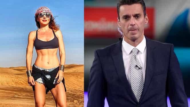Carmen Brumă și Mircea Badea, imagini fabuloase din Dubai! Cum a apărut prezentatorul în deșert