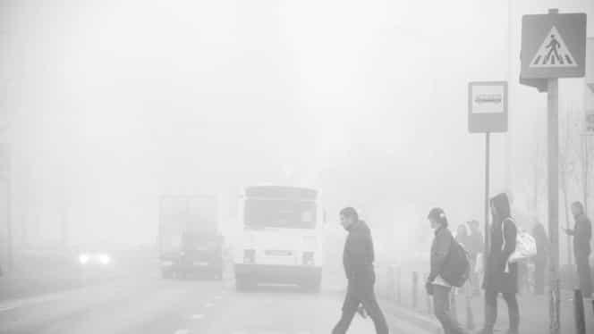 COD GALBEN de ceaţă în mai multe zone din ţară