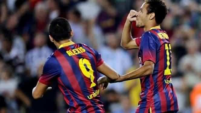 VIDEO / Barcelona – Valladolid 4-1 Fără Messi, Neymar şi Alexis au făcut show