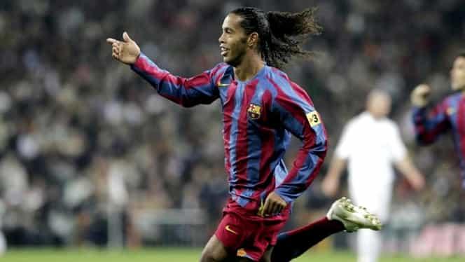 """Ronaldinho, dezvăluiri inedite într-un interviu pentru Panenka: """"Nu am schimbat istoria Barcelonei"""" + cum se înţelegea cu Lionel Messi: """"El m-a învăţat limba spaniolă"""""""