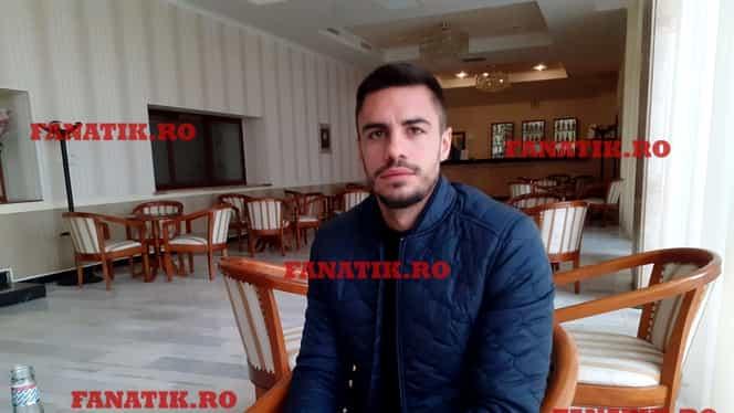 """Andrei Burcă, cel mai nou tricolor, interviu EXCLUSIV: """"Eram în mașină, în 5 minute trebuia să semnez cu Suceava și mi-a sunat telefonul. Mă pregăteam să mă las de fotbal!"""""""