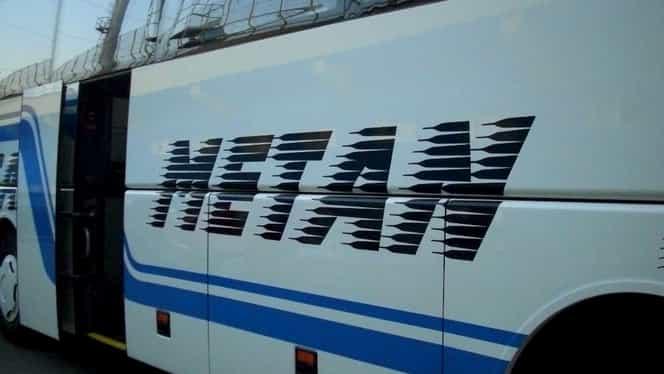 Video&foto. Autocarul în care se aflau fanii echipei din Mediaş a luat foc înainte de Sepsi – Gaz Metan