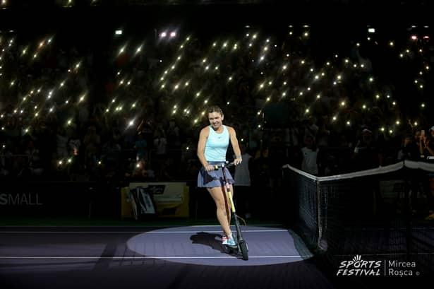 Simona Halep la Sports Festival 2019, Sursă foto: Mircea Roșca