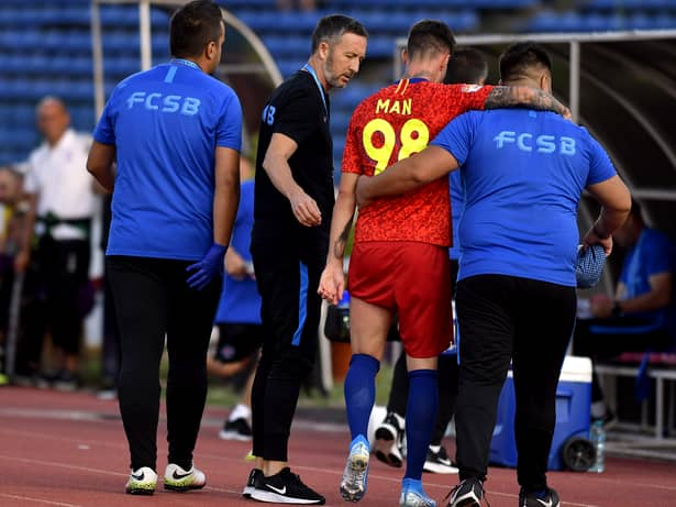 Mihai Stoica a fost cel care a insistat pentru transferul lui Dennis Man la FCSB. Sursă Foto: Sportpictures