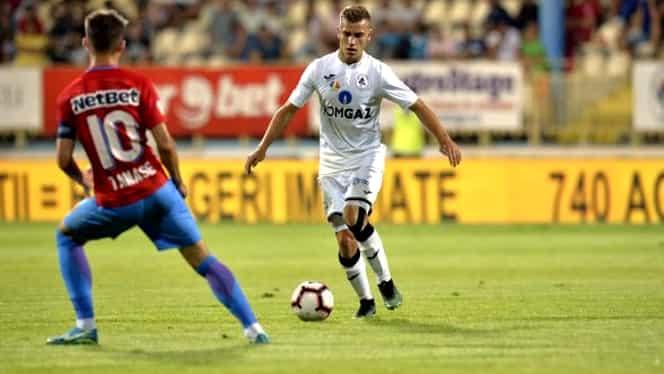 """Interviu cu Darius Olaru, noua achiziţie a FCSB: """"Vreau să ajung emblematic pentru Steaua! Domnul Gigi Becali nu o să aibă de ce să mă critice"""". EXCLUSIV"""