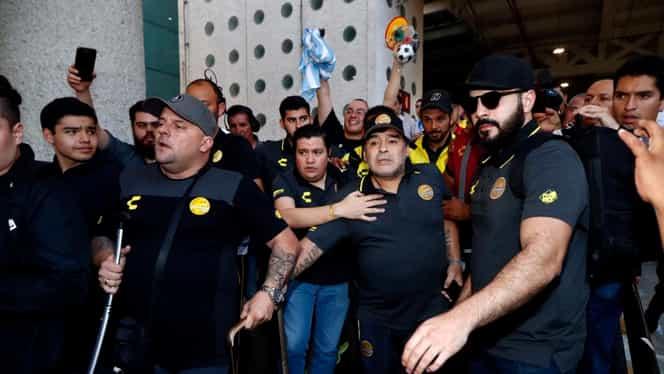 Diego Maradona a fost arestat când a ajuns în Argentina! Fosta iubită îi cere 5,5 milioane de euro