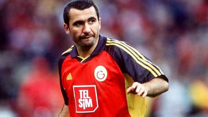"""Golul lui Gică Hagi pentru Galatasaray care """"a prins"""" topul all-time al Champions League. Video"""