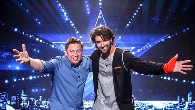 Pavel Bartoș și Smiley invită lumea la vot, în direct la Românii au Talent, la Pro TV