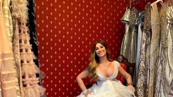 """Anamaria Prodan a făcut senzație într-o ședință foto. A pozat în rochie de mireasă: """"M-am simţit ca într-un film!"""" VIDEO"""