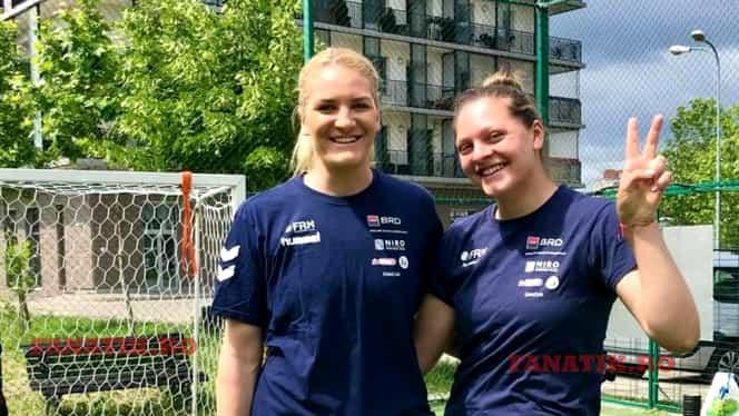 """Surorile Pintea, prezentul și viitorul naționalei feminine de handbal. """"Visez zi și noapte la Olimpiadă!"""" Video"""