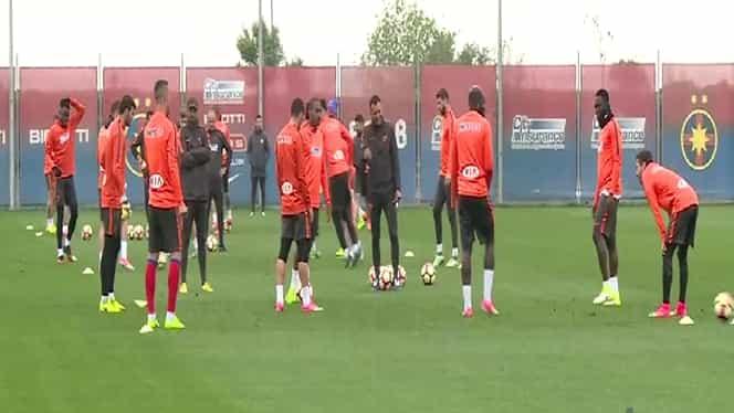 VIDEO. Steaua, primul antrenament în cantonamentul din Olanda