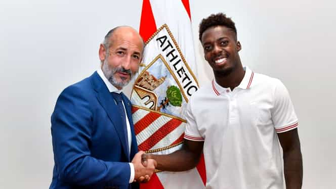 Contract incredibil în La Liga! Inaki Williams a semnat până în 2028 cu Athletic Bilbao!