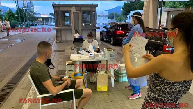 EXCLUSIV Situație incredibilă la vama Kulata! Grecii testează toți turiștii români pentru Covid-19, timpul de așteptare e de 3 ore