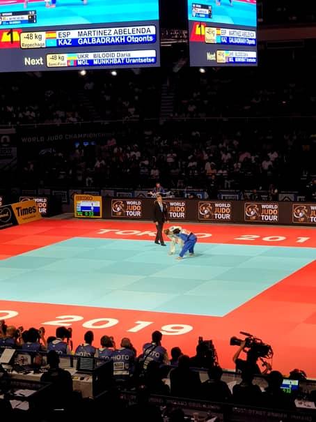 Campionatul Mondial de Judo din luna august a umplut sălile din Tokyo de la primele dispute până la finale, pasiunea japonezilor pentru sportul lor național fiind nemărginită