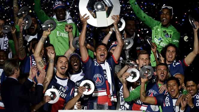 VIDEO / Tot PSG! Parizienii lui Zlatan au luat al treilea titlu consecutiv în Franţa