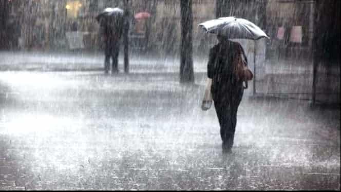 Prognoza meteo, luni 10 iunie! Vremea în București, Iași, Constanța, Cluj sau Brașov: sunt anunțate ploi, în cea mai mare parte a țării