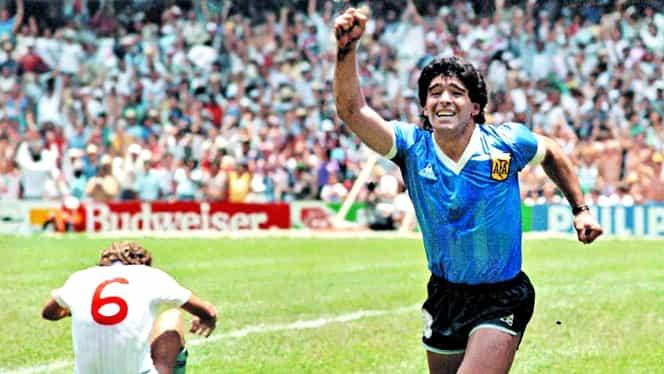 """De ce Diego Maradona nu îşi va cere niciodată iertare pentru golul marcat cu mâna Angliei în 1986. """"Răzbunare pentru Insulele Falkland"""""""