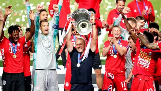 """Hansi Flick dă startul petrecerii după ce Bayern a câștigat Champions League: """"Ar trebui să sărbătorim aşa cum trebuie"""""""