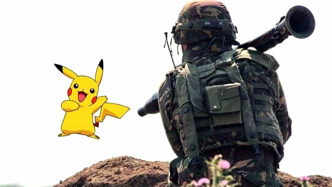Atenţie, se trage! Avertisment de la Armată pentru vînătorii de pokemoni