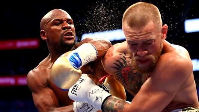 VIDEO. Floyd Mayweather câştigă prin KO meciul cu McGregor. Irlandezul a început bine, dar a fost NIMICIT de Floyd