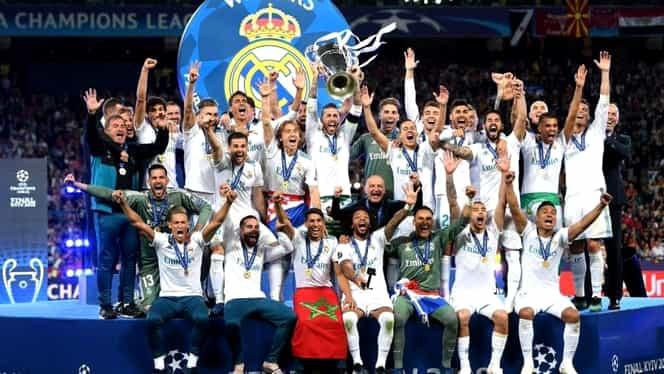 """Real Madrid câştigă a 13-a Ligă a Campionilor! """"Galacticii"""", victorie spectaculoasă cu Liverpool"""