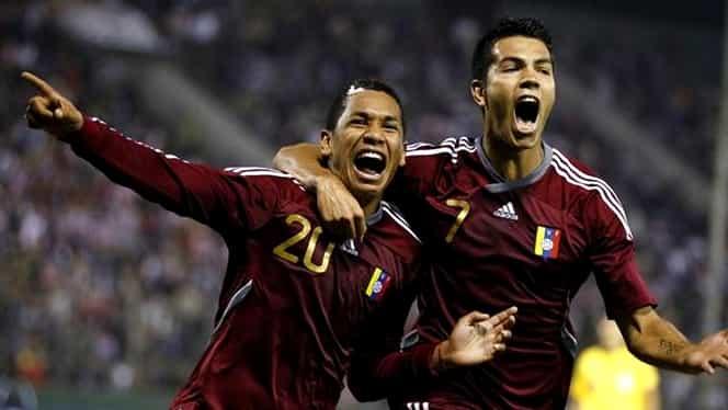 VIDEO / Doar aşa poate trece Venezuela de grupe la Copa America! Fetele le-au ridicat moralul jucătorilor