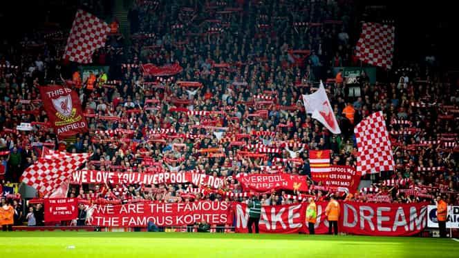 """Gică Hagi şi Gică Popescu şi-au luat lojă pe Anfield pentru Liverpool – Genk! """"Regele"""" a dat peste 660 de lire pentru locurile de lux"""