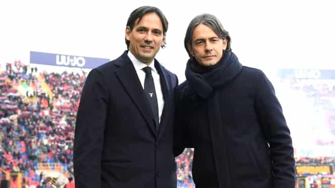 Frații Inzaghi domină Italia! Simone, pe primul loc în Serie A, iar Filippo e lider în liga a doua