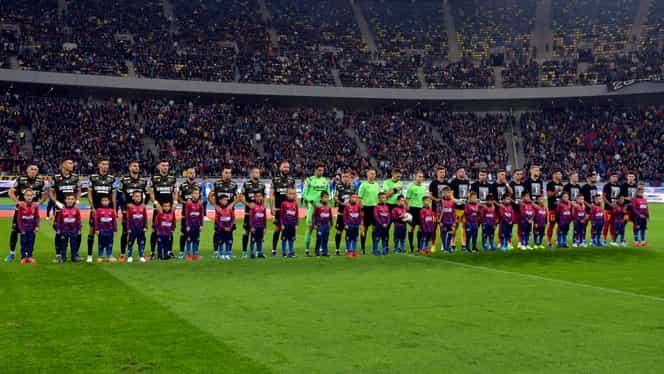 FCSB – Dinamo, meciul cu cei mai mulți spectatori în primele 22 de etape. Craiova domină autoritar top 10 în clasamentul asistenței!