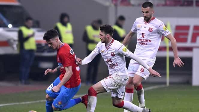 Au apărut imaginile șocante cu pumnul aplicat de Jazvic de la Hermannstadt oficialului clubului, Răzvan Zamfir! VIDEO