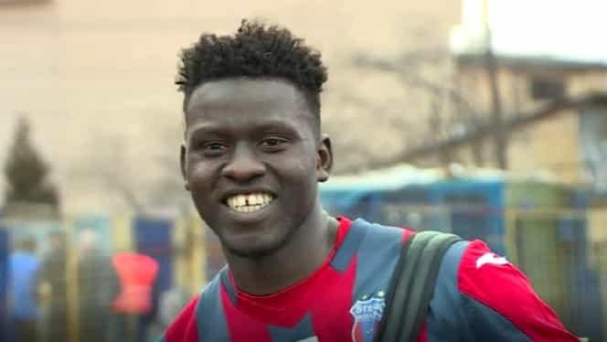 Video. Senegalezul care înjură Rapidul! I-a cucerit deja pe fani